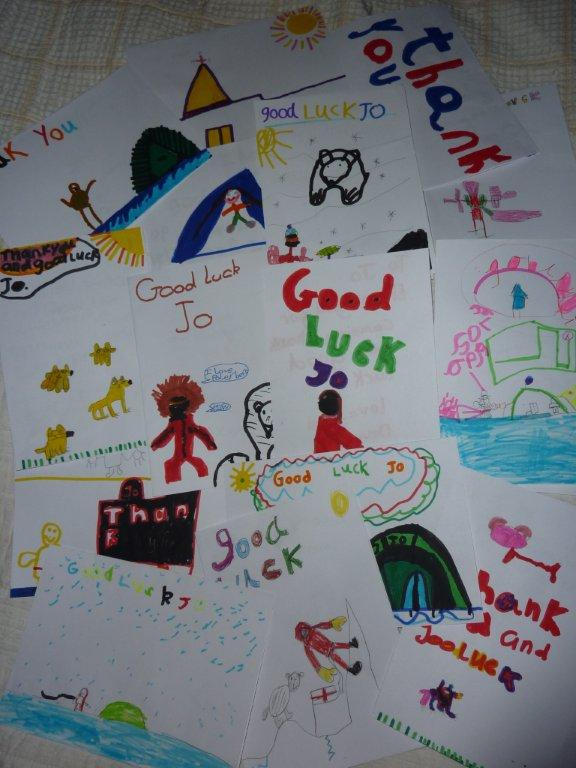 Year 2 Thank You Cards